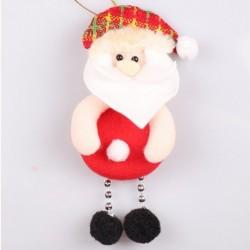 1db 11x7cm-es Télapó - Mikulás dísz - Karácsonyi dekoráció - 12