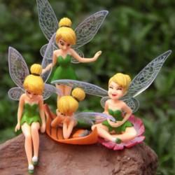 Nincs szín - Virágtündér mikrotáj kertkertészeti tündér mini babaház dísz barkácsolás