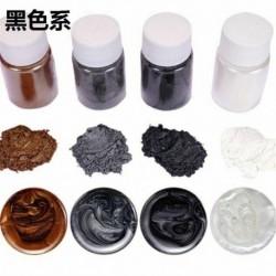 Fekete sorozat - 20 színű világító porgyanta pigmentfesték UV gyanta epoxi barkácsolás ékszerek készítése USA