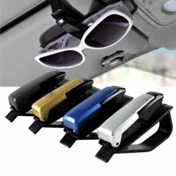 Nincs szín - 1db autójármű kiegészítő napellenző napszemüveg szemüveg kártya tolltartó klip