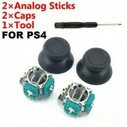 Nincs szín - 2db 3D analóg joystick bot érzékelő modul   joystick sapka készlet XBOX ONE PS4-hez