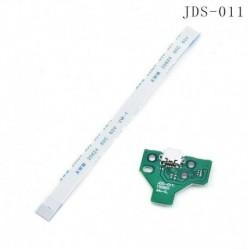 JDS-011   12 tűs kábel - PS4 USB töltőport aljzat áramköri kártya JDS 011 030 040 055 001 csatlakozóhoz