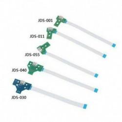 mindez 5db felett - JDS-011/030/040/055 USB töltőport kártya PS4 vezérlőhöz 12 tűs CABLE UK