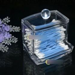 Átlátszó akril füldugó smink tartó doboz
