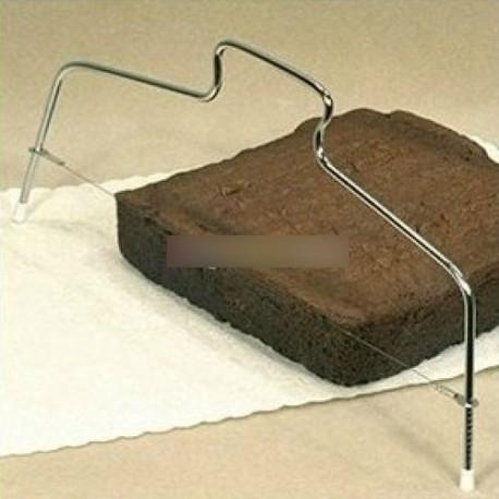 Állítható kenyér szelet vágó torta szeletelő