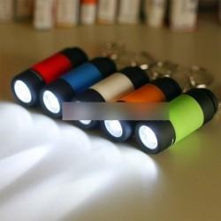 Mini LED USB tölthető színes zseblámpa