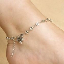 16 * - Divat női boka ezüst arany varázsa boka lánc karkötő láb szandál ékszerek