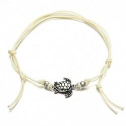 * 24 Fehér - Boho bokaváz karkötő Strand teknős gyöngy tengeri csillag kristály gyöngy lánc karkötő
