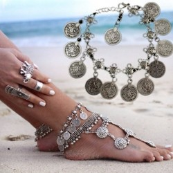* 30 - Boho bokaváz karkötő Strand teknős gyöngy tengeri csillag kristály gyöngy lánc karkötő
