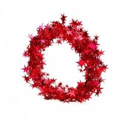 Style-23 piros (1db hossz: 5M) - Karácsonyi angyal baba játék függő medál fesztivál dísz karácsonyi fa dekoráció