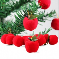 Style-22 karácsonyi alma (12db ... - Karácsonyi angyal baba játék függő medál fesztivál dísz karácsonyi fa dekoráció