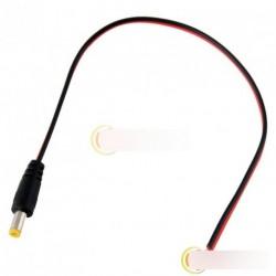 10 X 30cm egyenáram F csatlakozó 2.1mm Kábel CCTV