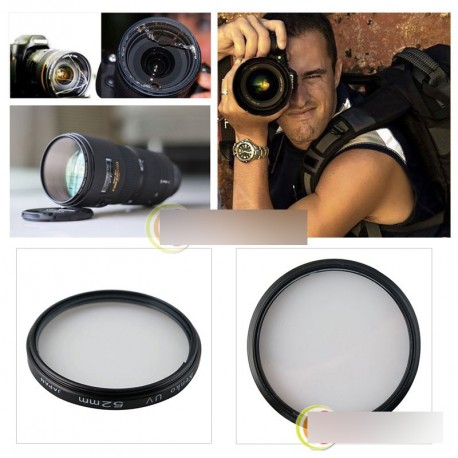 Univerzális UV Objektív Szűrő 52mm Nikon Canon Sony