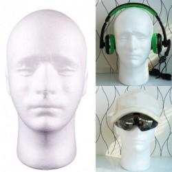 Hungarocell férfi fej modell Mannequin kirakat