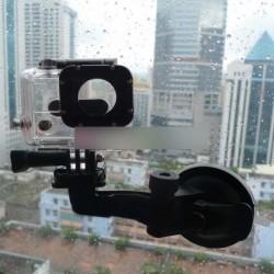 Tapadókorongos ablak szélvédő Autós tartó GoPro HD