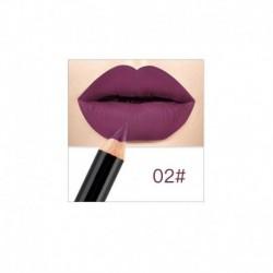2 - 12 színű vízálló ceruzás rúzs toll matt ajakfesték tartós smink