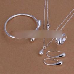 Ékszer szett nyaklánc karkötő gyűrű fülbevaló