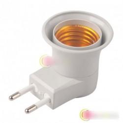 10 db E27 LED M - EU foglalat átalakító