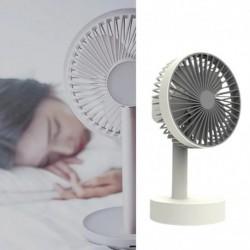 W3 hordozható asztali lemezjátszó asztali ventilátor ventilátorok újratölthető, praktikus léghűtő ventilátor