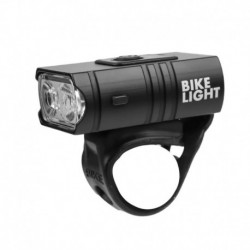 Erős könnyű kerékpárlámpa USB töltés beépített akkumulátor teljesítmény kijelzővel kerékpár fény lámpa
