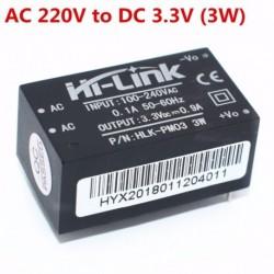 10db HLK-PM03 3W AC-DC 220V - 3.3V lépcsős tápegység modul intelligens háztartási kapcsoló átalakító