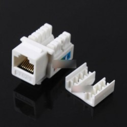 1 db CAT6 RJ45 110  Ethernet-csatlakozó