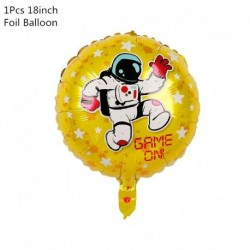 1db fólia léggömb - Világűr parti űrhajós rakétahajó fólia léggömbök galaxis / naprendszer téma party fiú