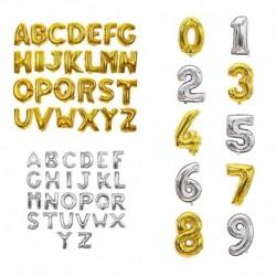 Arany - Arany és ezüst betűszámú fólia lufi