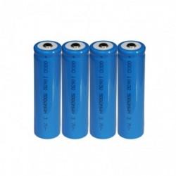 4PCS 3.7V 5000mAh 18650 akkumulátor Li Ion újratölthető nagy kapacitású elemlámpa forró új forró teljesítmény nagy