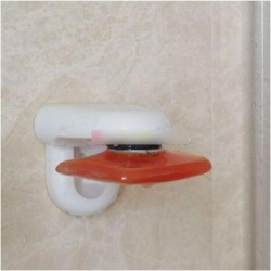 Mágneses falra szerelhető fürdőszoba szappantartó