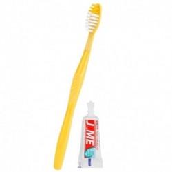 AZ ÁBRÁN LÁTHATÓ MÓDON - Millió fogkefe Rendkívül finom Micro-Nano szőrös fogkefe hajgyökér hajkefe hordozható