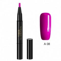 A08 - Új kényelmes körömgélfesték egylépéses géles körömlakk Top Primer 3In1 UV gélfestékkel, professzionális