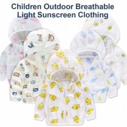 Gyerekek szivárványos kabát kapucnis napfény vízálló napvédő kabát fiúk lányok tavaszi őszi ruhák gyerekek