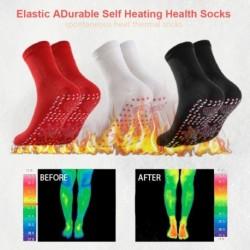 Nők segítenek a meleg hideg lábakban Kényelmes önmelegítő egészségügyi zokni Mágneses terápia Kényelmes férfiak