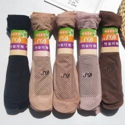 Női masszázs csúszásmentes zokni Pöttyös gumi talp rövid zokni