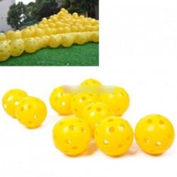 2db Fény légáramlás műanyag Golf gyakorló labda
