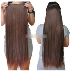 1db Női hosszú egyenes haj hosszabbító paróka