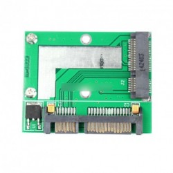 "PCI-E Half mini mSATA SSD - 7 mm 2,5"" SATA Sisk"