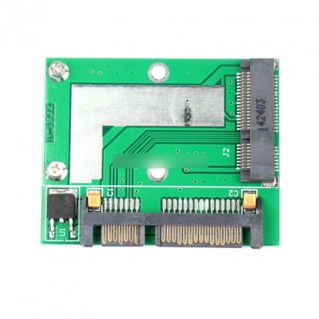 """PCI-E Half mini mSATA SSD - 7 mm 2,5"""" SATA Sisk"""