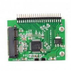"""MSATA SSD 55mmx40mm SSD - 2,5"""" 44  IDE HDD adapter"""