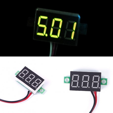 1 db DC 0-32V LED panel feszültség mérő
