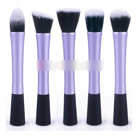 1db 5 típus lila kozmetikai smink púder ecset