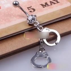 1 db Új bilincs Crystal Style Gyűrűk testékszer pirszing kiegészítő ékszer  Piercing