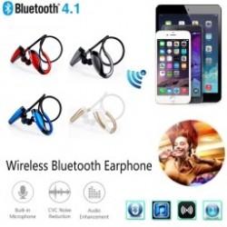 1x Vezeték nélküli Bluetooth Sport sztereó fejhallgató Fülhallgató MIC-vel iPhone