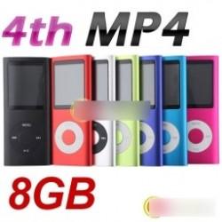 """1db 8 GB 1,8 """"-os LCD MP3 MP4 FM 4. zene lejátszó több féle színben"""