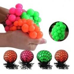 1db 6CM AntiStressz labda szőlő minta játék stressz oldó játék