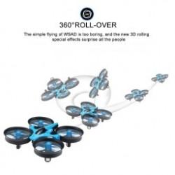 1db Mini Drón  H36 RC Quadcopter 2.4G 6-tengelyes gyro 4 csatorna LED fej nélküli üzemmód