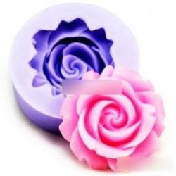 Rózsa alakú szilikon forma - csokoládéforma - fondant forma