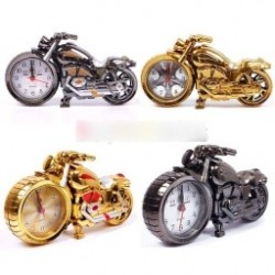 1db  Új kreatív motorkerékpár formájú digitális ébresztőóra Quartz Model otthoni ajándék ajándék