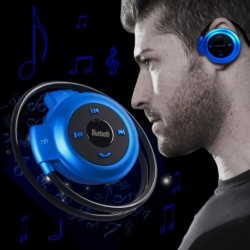 Vezeték nélküli Bluetooth fejhallgató fülhallgató sztereó